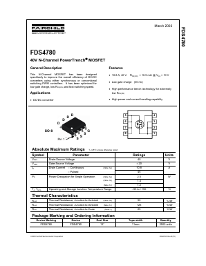 FDS4780 image