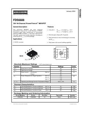 FDS6688 image