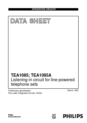 TEA1085AT image