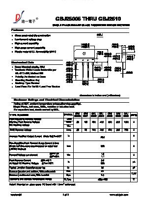 GBJ2506 image