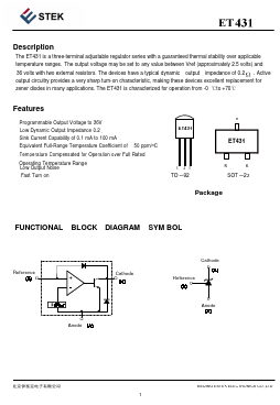 ET431 image