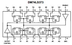 DM74LS373 image