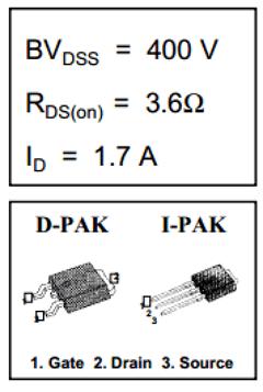 IRFU310A image