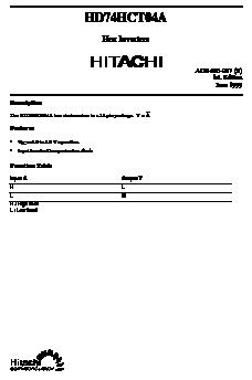 HD74HCT04A image