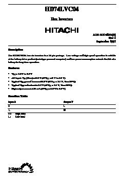 HD74LVC04 image