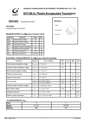 2SA1662 image