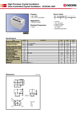 OCVCXO-185F image