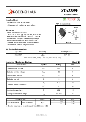 STA3350F image