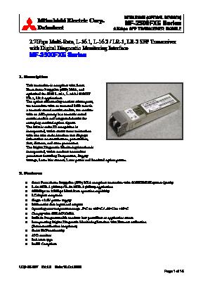 MF-2500FXE image