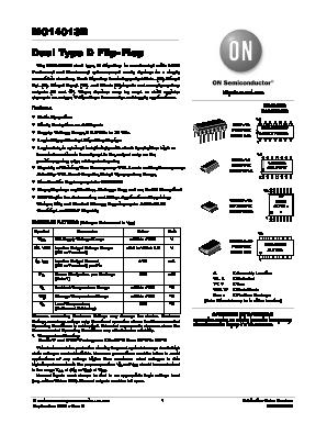 MC14013BCPG image