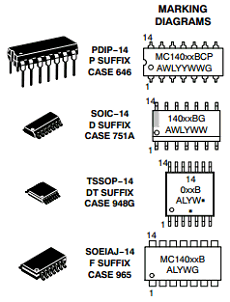 MC14071BCPG image