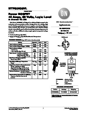MTP50N06VL image