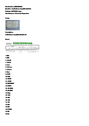 RSN309W44A image