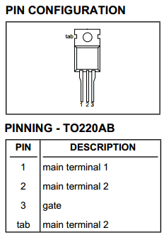 BTA225-600C image