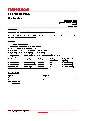 HD74LVU04A image