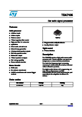 TDA7406 image