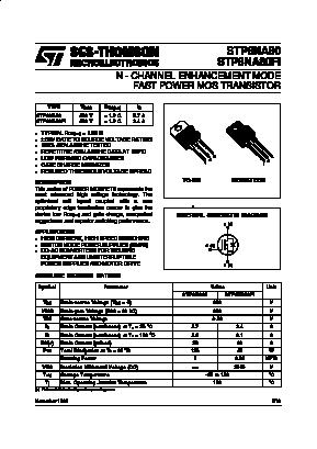 STP6NA80FI image