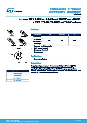 STB6NK90ZT4 image