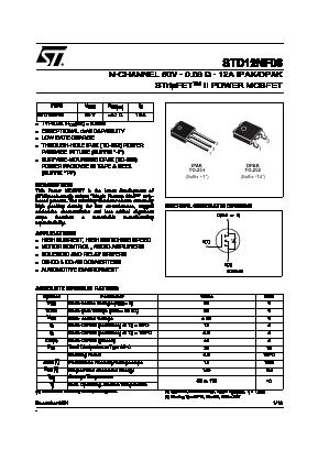 STD12NF06 image