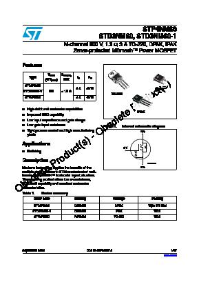 STD3NM60 image