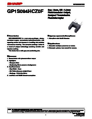 GP1S094HCZ0F image