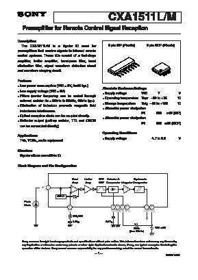 CXA1511M image