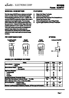 IRF820 image