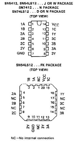 SN74LS12 image