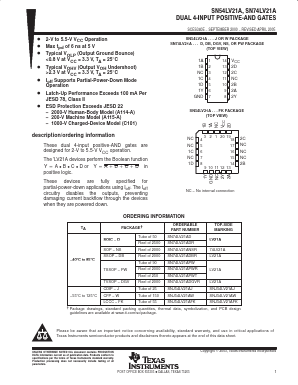 SN74LV21APWRE4 image