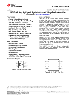 LM7171AMWG-QMLV image