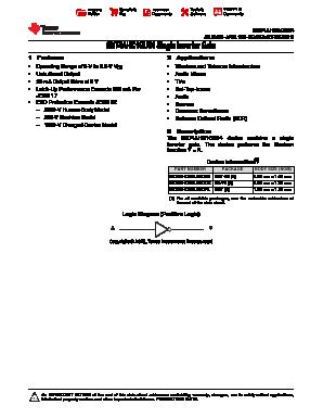 SN74AHC1GU04 image