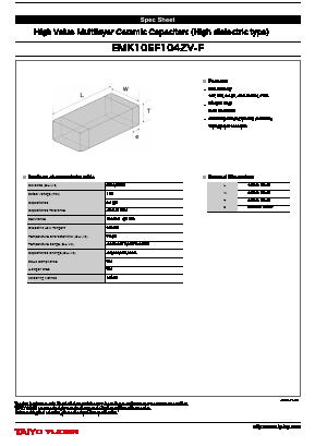 EMK105F104ZV-F image
