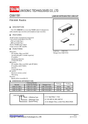 CXA1191-S28-T image