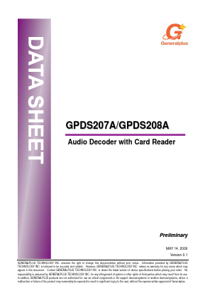 GPDS208A image