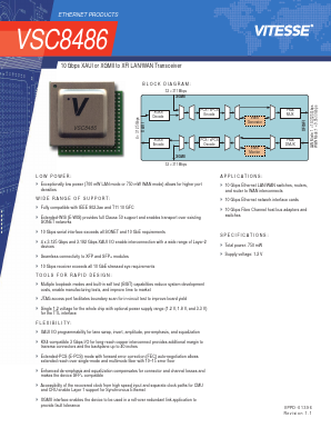 VSC8486 image